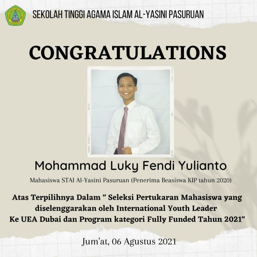 Mohammad Luky Fendi Yulianto